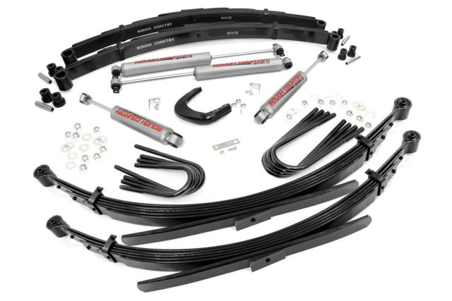 (SKU: 128.20) 6IN GM SUSPENSION LIFT SYSTEM (52IN REAR SPRINGS)