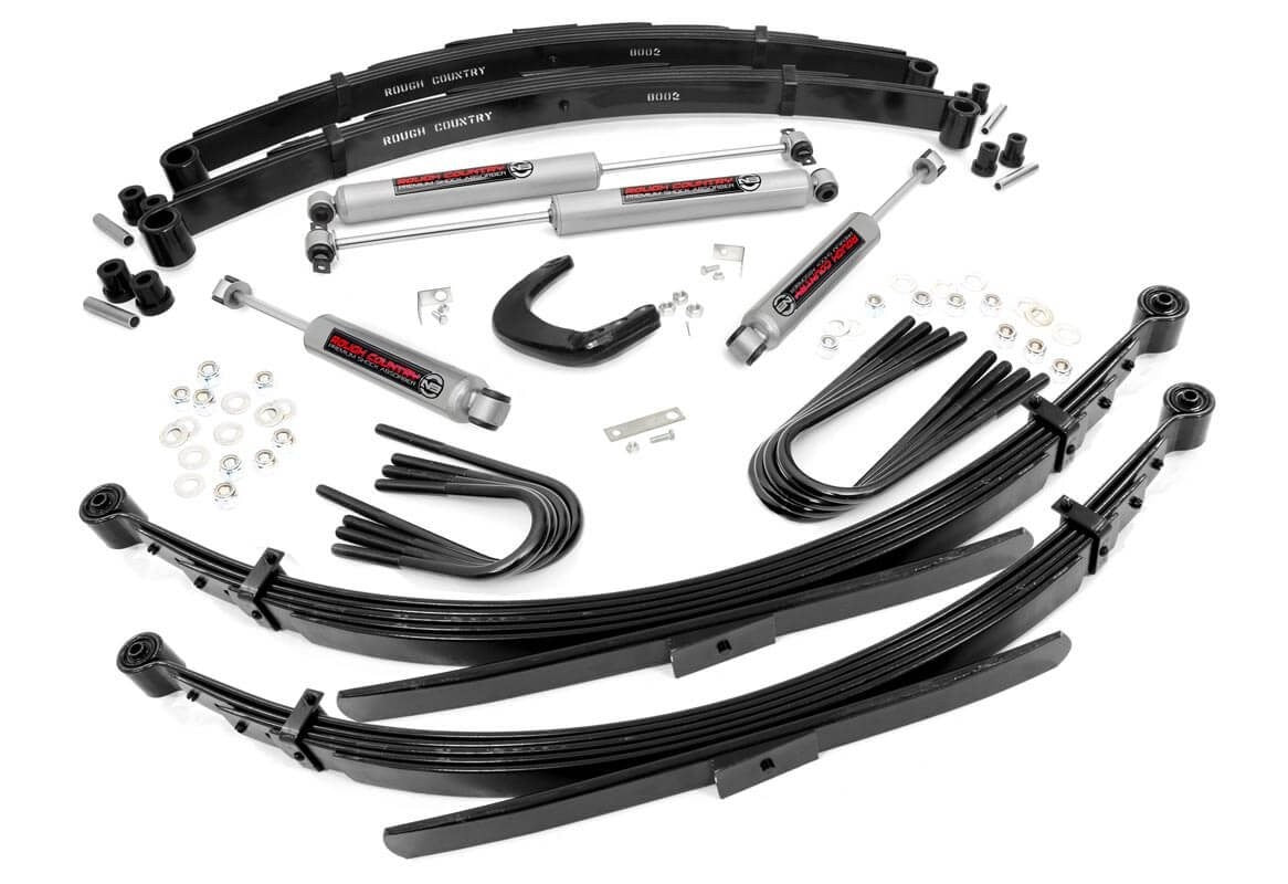 (SKU: 196.20) 4IN GM SUSPENSION LIFT SYSTEM (52IN REAR SPRINGS)