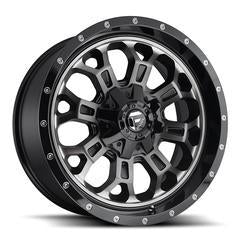 FUEL WHEELS  Crush 18x9 5x4.5 5x5.0 -12