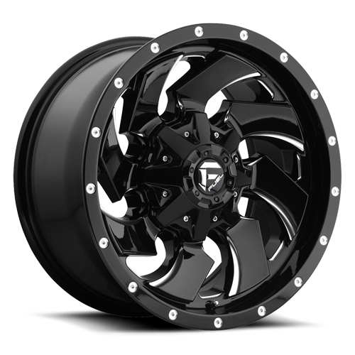 FUEL WHEELS  Cleaver Dualie Rear 20x8.25 8x210  -195