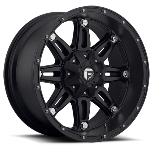 FUEL WHEELS  Hostage 18x9 6x4.5 6x5.5 -12