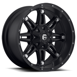 FUEL WHEELS  Hostage 17x9 6x120  -12