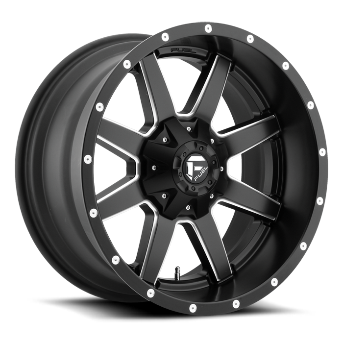 FUEL WHEELS  Maverick 17x10 8x170  -24