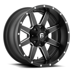FUEL WHEELS  Maverick 17x9 8x6.5  -12
