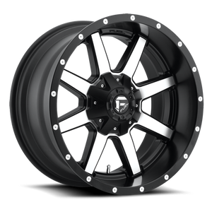 FUEL WHEELS  Maverick 20x10 5x4.5 5x5.0 -18