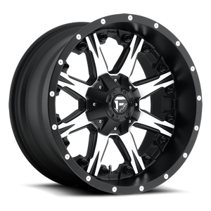 FUEL WHEELS  NUTZ UTV 14x7 4x156  13