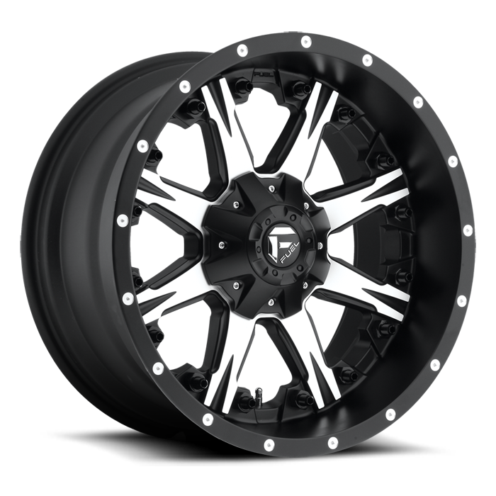 FUEL WHEELS  NUTZ 20x10 8x180  -12