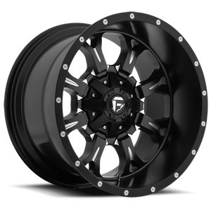 FUEL WHEELS  Krank 17x9 5x4.5 5x5.0 -12