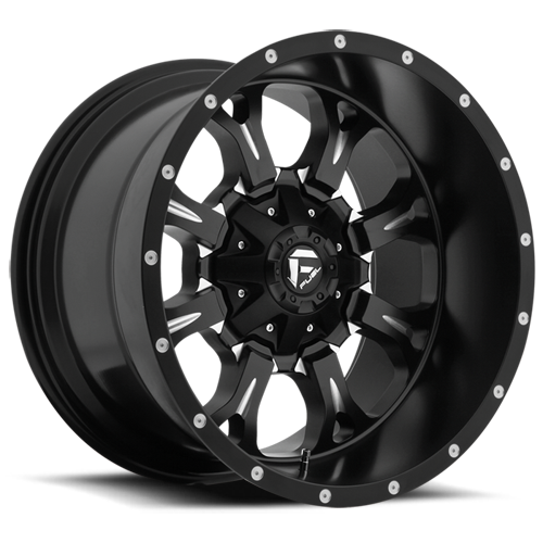 FUEL WHEELS  Krank 17x9 5x5.0 5x5.5 -12