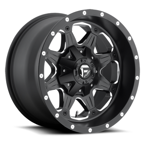 FUEL WHEELS  Boost 17x9 8x6.5  -12