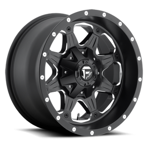 FUEL WHEELS  Boost DL 18x9 8x6.5  01