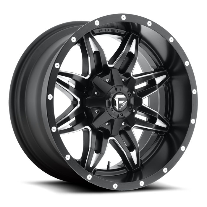 FUEL WHEELS  Lethal 17x9 8x6.5  -12