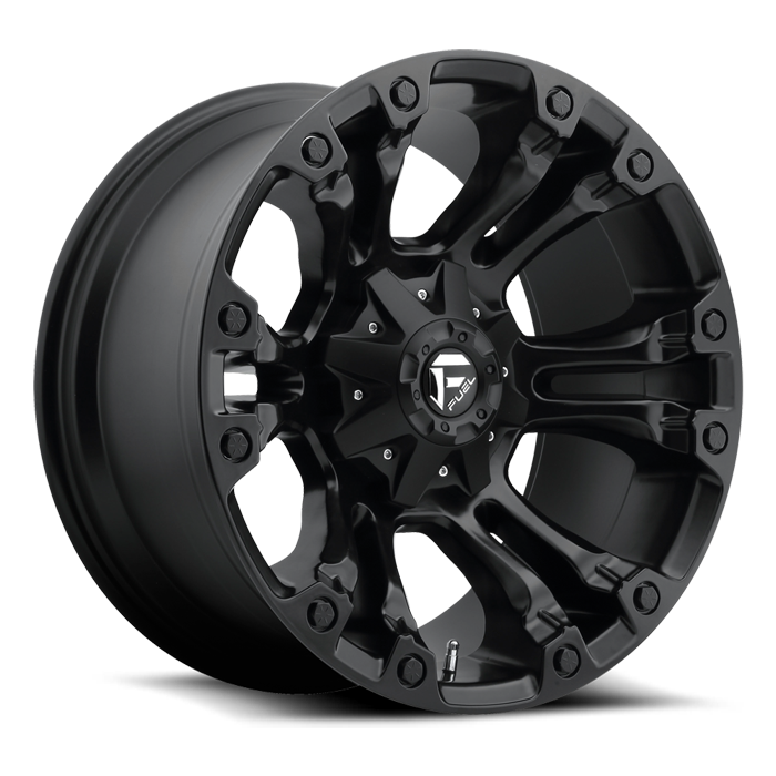FUEL WHEELS  Vapor 17x9 5x4.5 5x5.0 -12