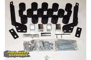 (SKU: BL673) 3IN DODGE BODY LIFT KIT (97-01 RAM 1500/2500/3500 | GAS)