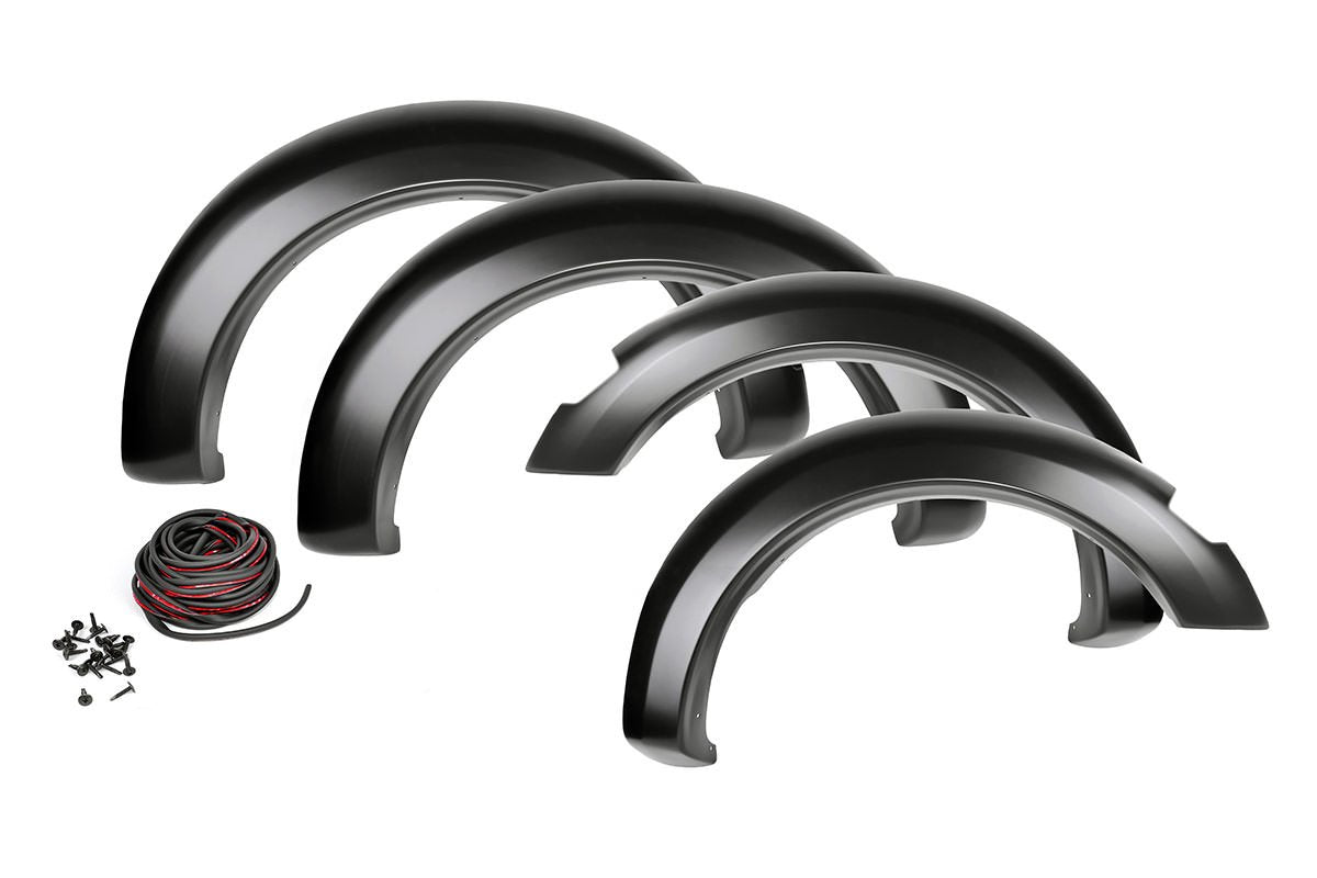 (SKU: F-D10911S) DODGE POCKET FENDER FLARES | SMOOTH (09-18 RAM 1500 W/METAL BUMPER)