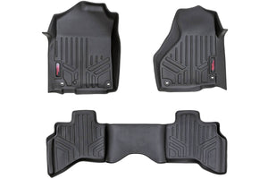(SKU: M-31213) HEAVY DUTY FLOOR MATS [FRONT/REAR] - (12-18 DODGE RAM 1500)