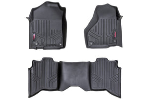 (SKU: M-31312) HEAVY DUTY FLOOR MATS [FRONT/REAR] - (12-18 DODGE RAM 1500)