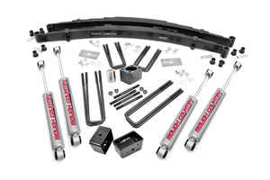(SKU: 310.20 ) 4IN DODGE SUSPENSION LIFT KIT (DANA 44)