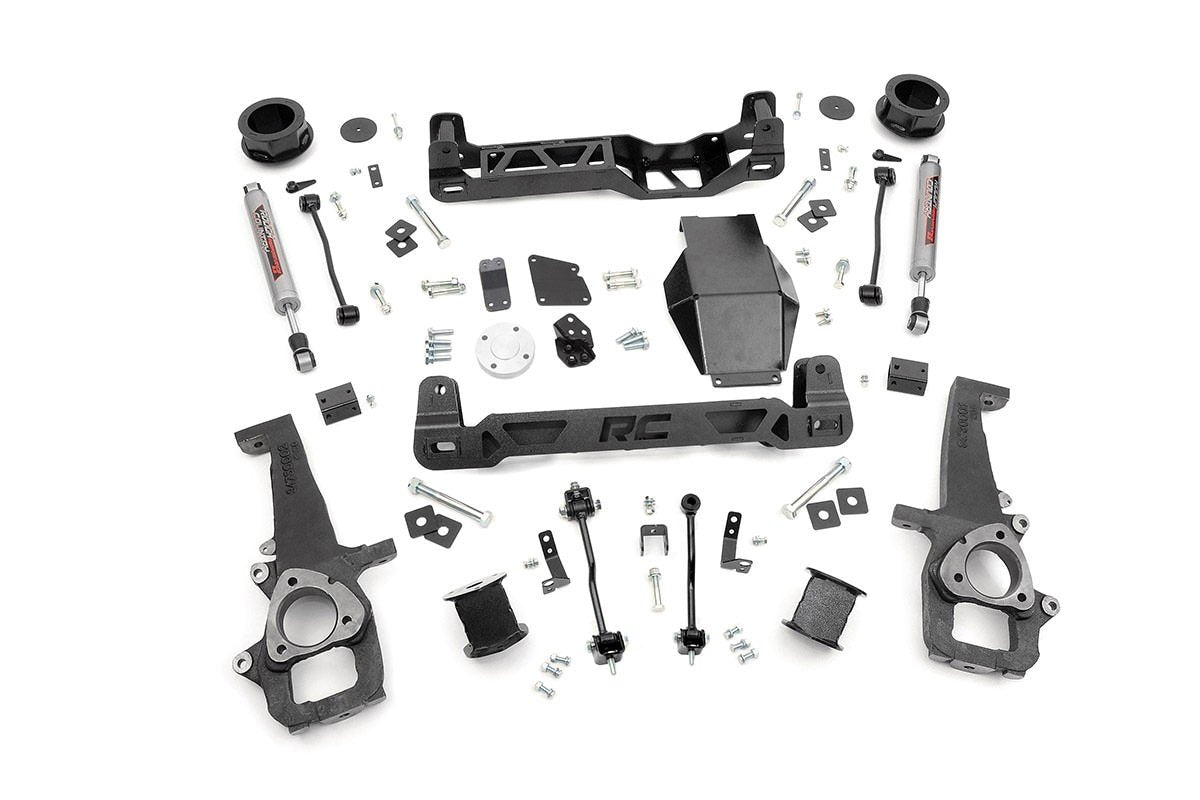 (SKU: 323S)4IN DODGE SUSPENSION LIFT KIT (12-17 RAM 1500 4WD)