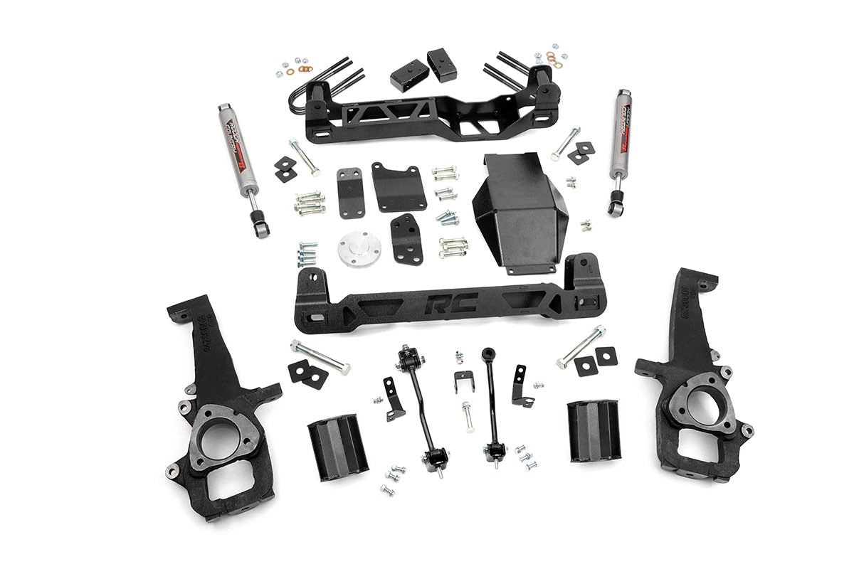 (SKU: 327S) 6IN DODGE SUSPENSION LIFT KIT (06-08 RAM 1500 4WD)