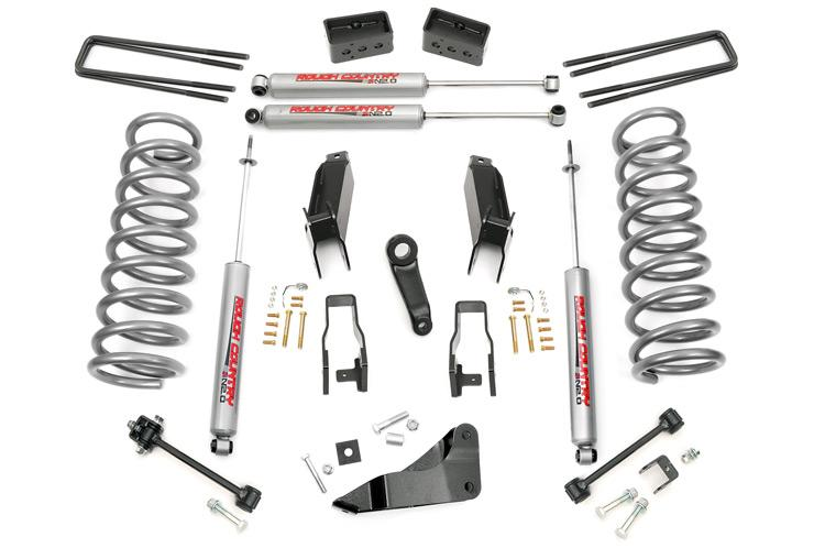 (SKU:393.23) 5IN DODGE SUSPENSION LIFT KIT (GAS)