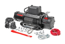 (SKU: PRO12000S) 12000LB PRO SERIES ELECTRIC WINCH | SYNTHETIC ROPE