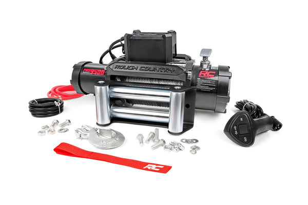 9,500-Lb PRO Series Electric Winch w/ Steel Cable