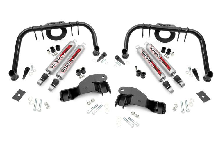 (SKU: 1406) FORD FRONT DUAL SHOCK KIT (8IN)
