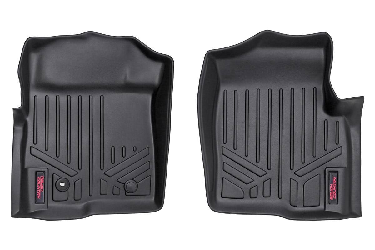 (SKU: M-5091) HEAVY DUTY FLOOR MATS [FRONT] - (09-10 FORD F-150 ALL CABS)
