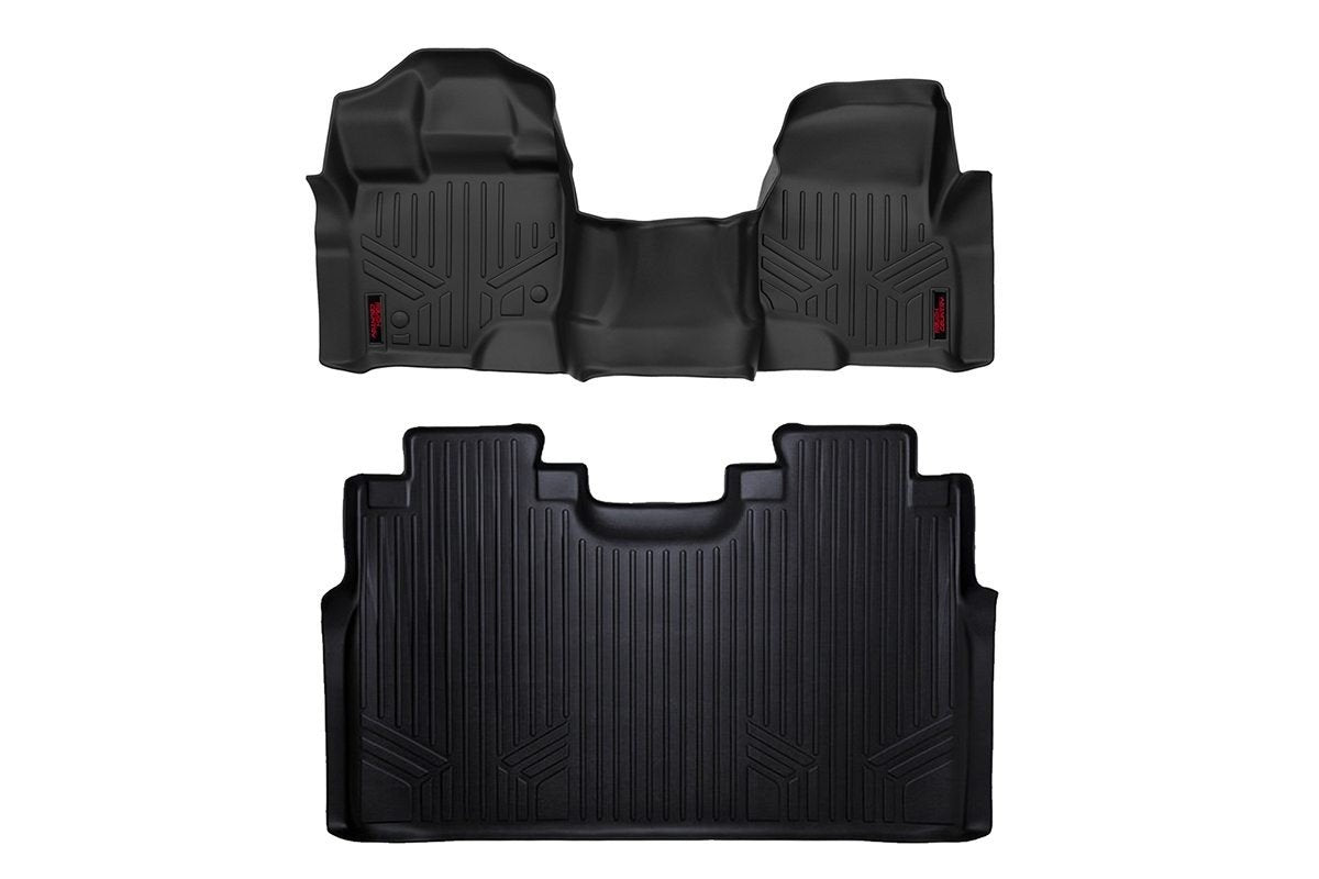 (SKU: M-51512) HEAVY DUTY FLOOR MATS [FRONT/REAR] - (15-18 FORD F-150)