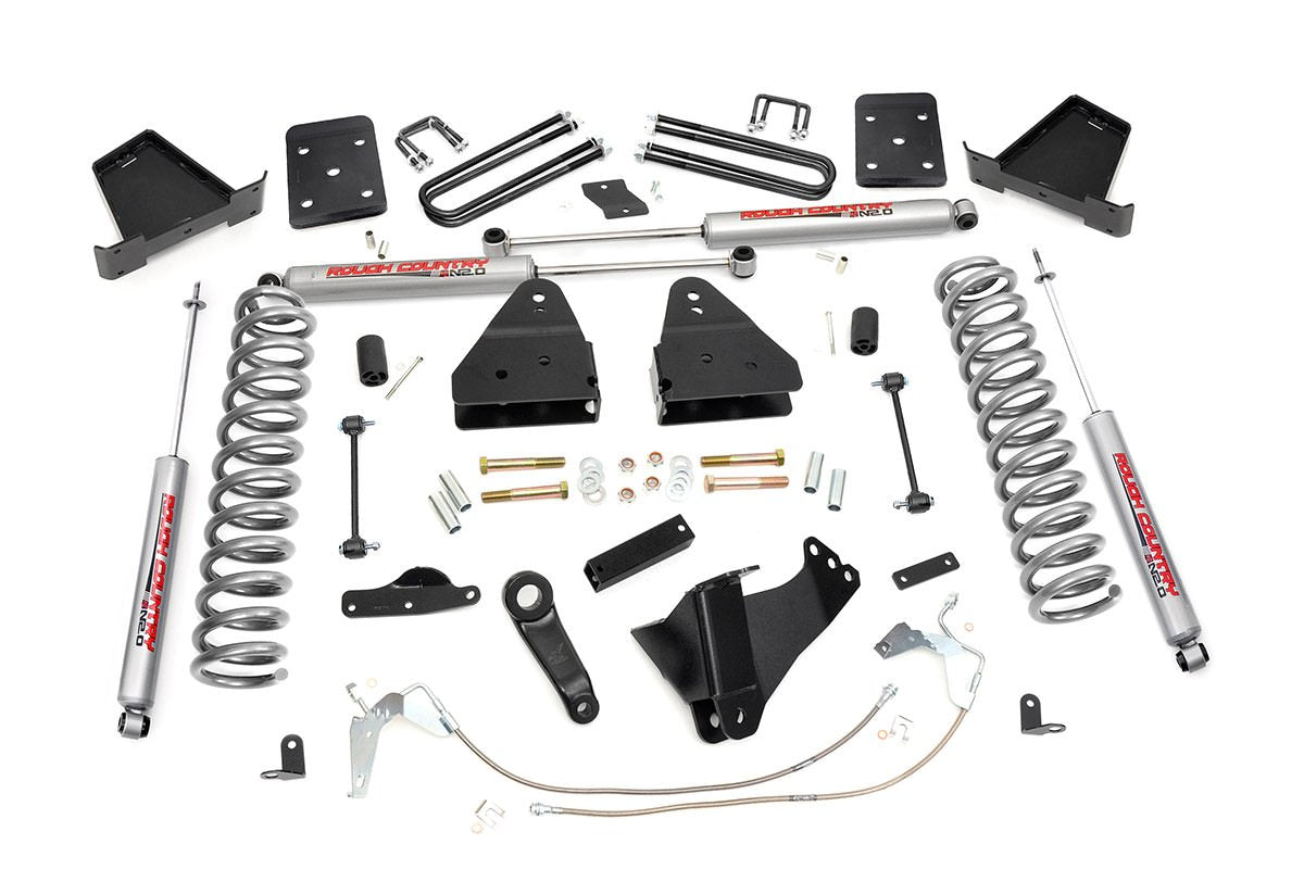 (SKU: 478.20) 4.5IN FORD SUSPENSION LIFT KIT (08-10 F-250/350 4WD)