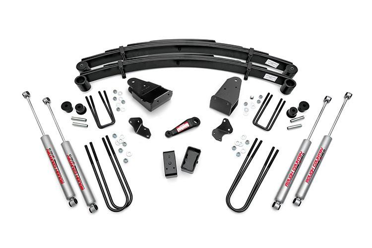 (SKU: 490-80-86.20) 4IN FORD SUSPENSION LIFT KIT