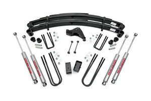 (SKU: 494P) 4IN FORD SUSPENSION LIFT KIT