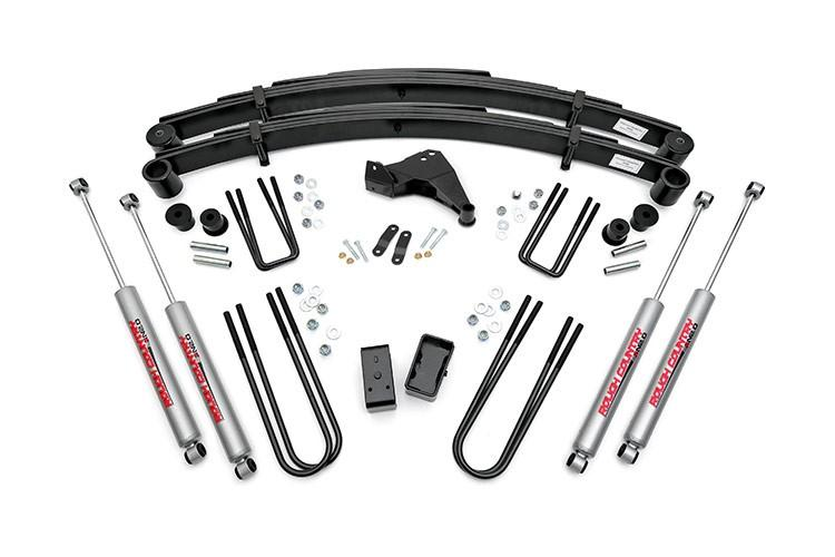 (SKU: 494.20) 4IN FORD SUSPENSION LIFT KIT