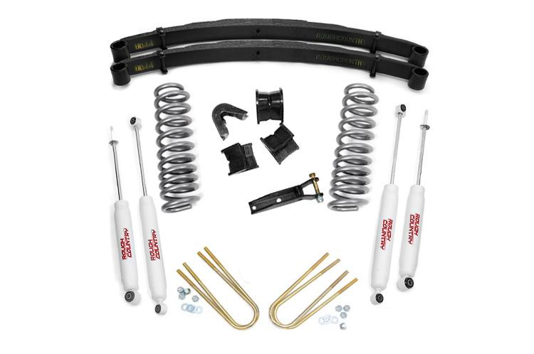 (SKU: 535.20) 4IN FORD SUSPENSION LIFT SYSTEM (78-79 BRONCO 4WD)