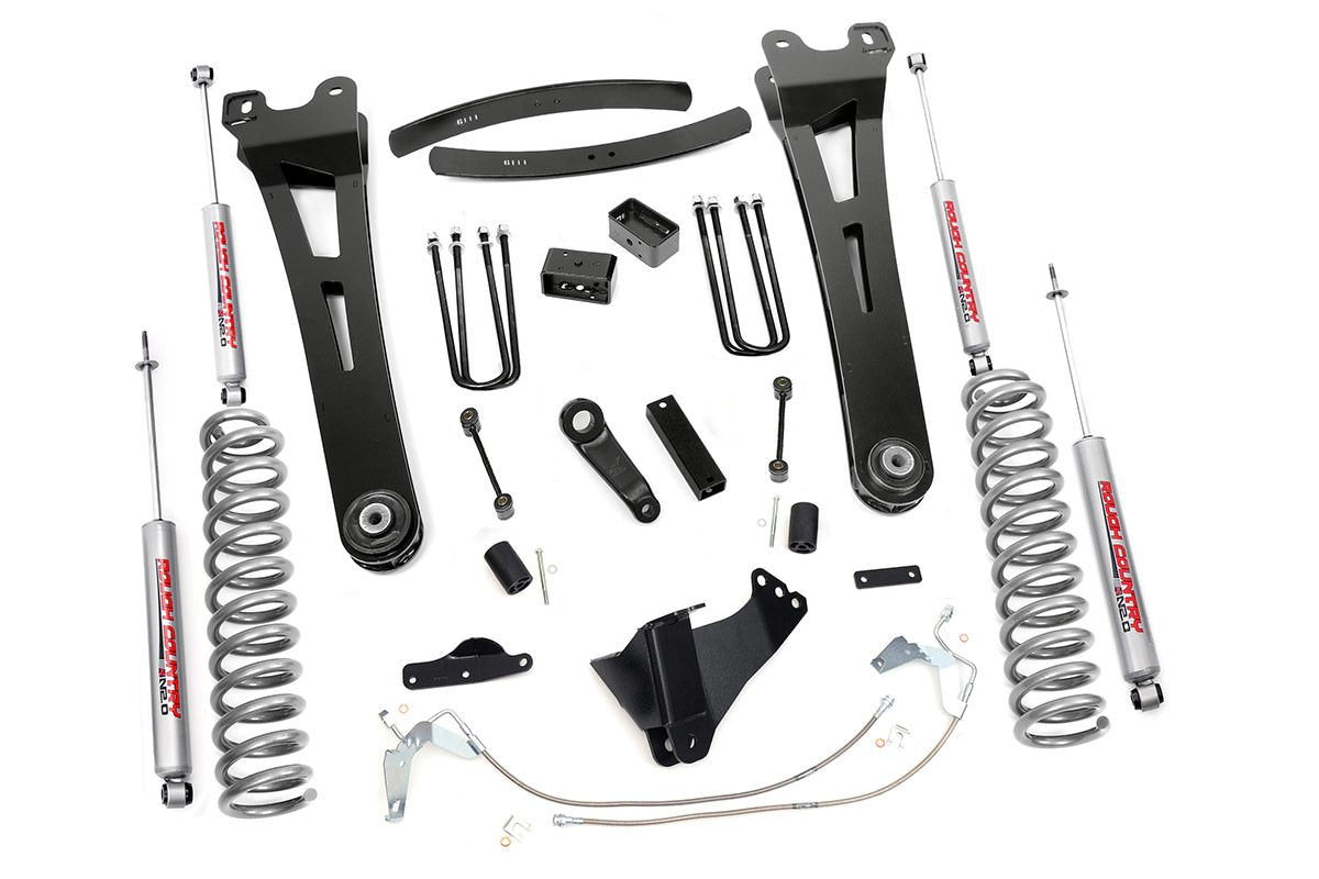 (SKU:538.20) 6IN FORD SUSPENSION LIFT KIT | RADIUS ARMS (08-10 F-250/350 4WD)