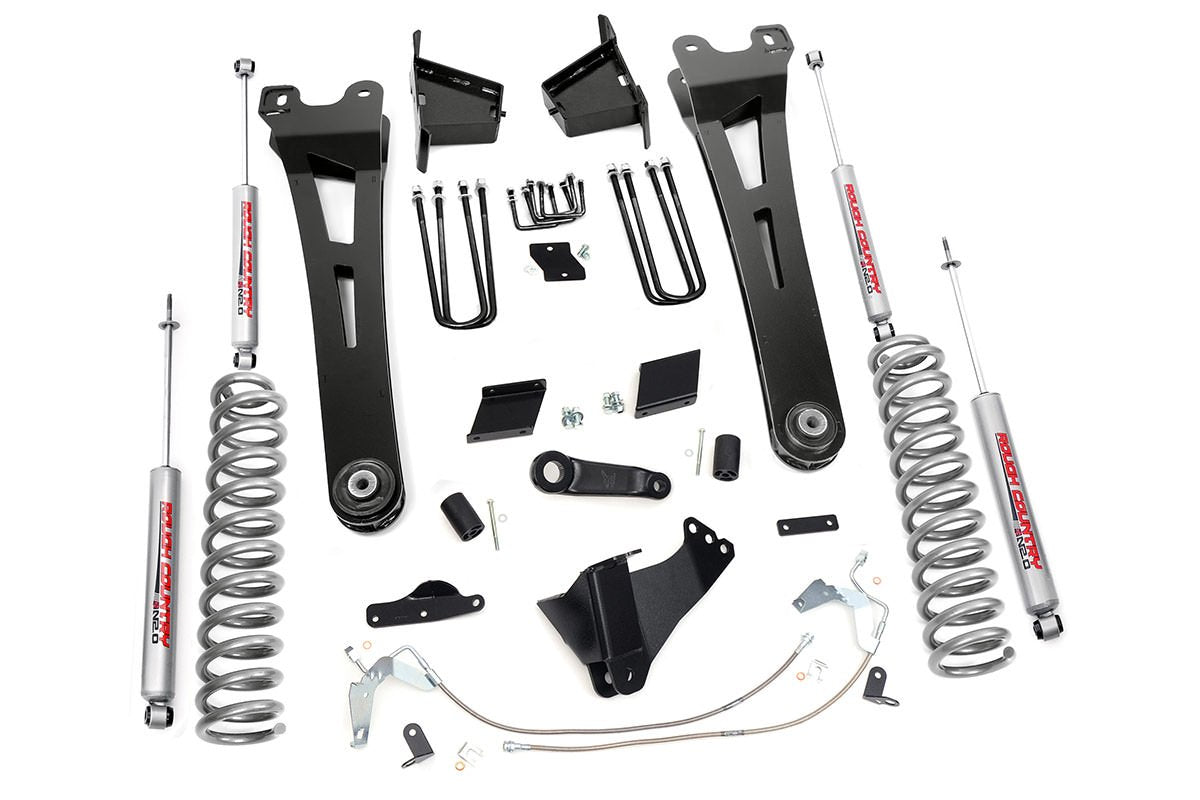 (SKU:542.20) 6IN FORD SUSPENSION LIFT KIT | RADIUS ARMS (15-16 F-250 4WD | DIESEL)