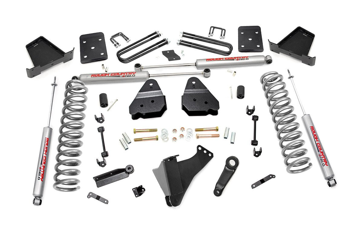 (SKU:50620) 4.5IN FORD SUSPENSION LIFT KIT (17-18 F-250/350 4WD | DIESEL)