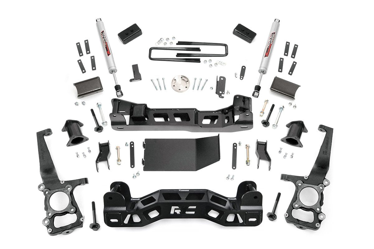 (SKU: 574.22) 4IN FORD SUSPENSION LIFT KIT (2014 F-150 4WD)