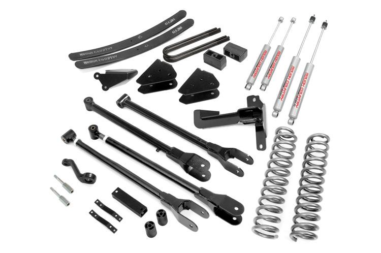 (SKU: 578.20) 6IN FORD 4-LINK SUSPENSION LIFT KIT (05-07 F-250/350 | GAS - W/O OVERLOADS )