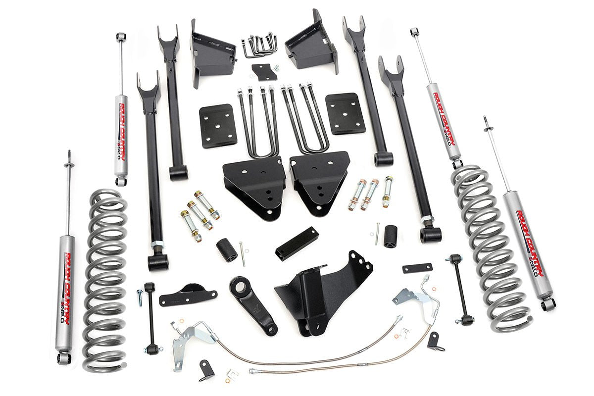 (SKU: 592.20) 8IN FORD SUSPENSION LIFT KIT | 4-LINK (08-10 F-250/350 4WD)