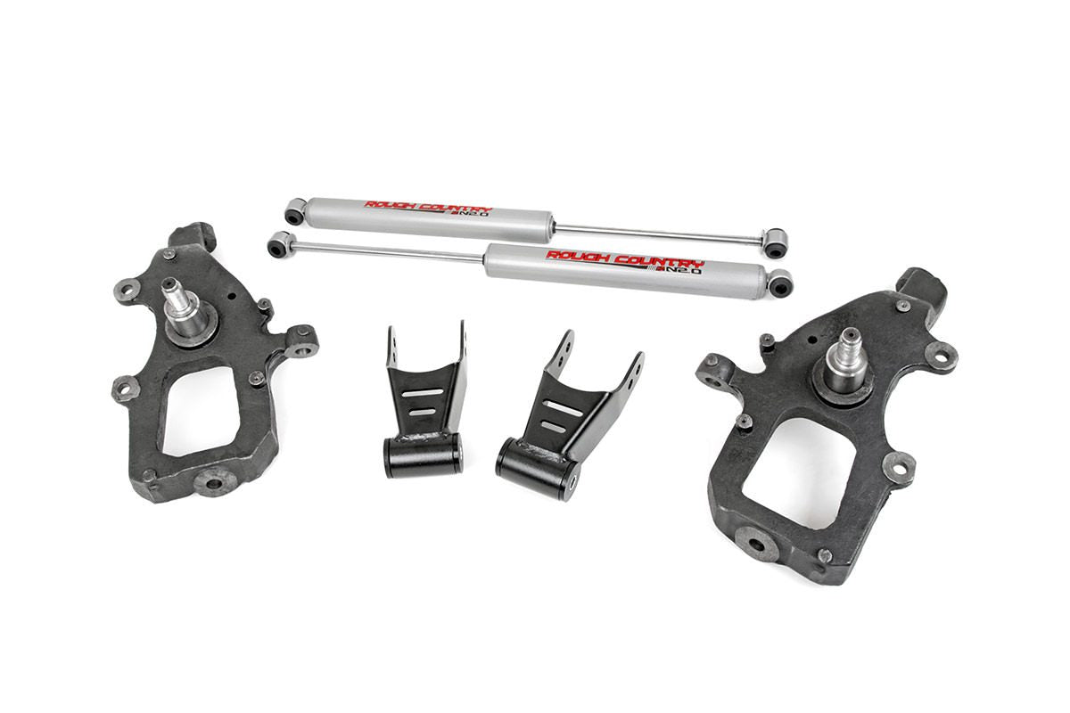 (SKU:800.20) 2IN / 2IN FORD LOWERING KIT (04-08 F-150)