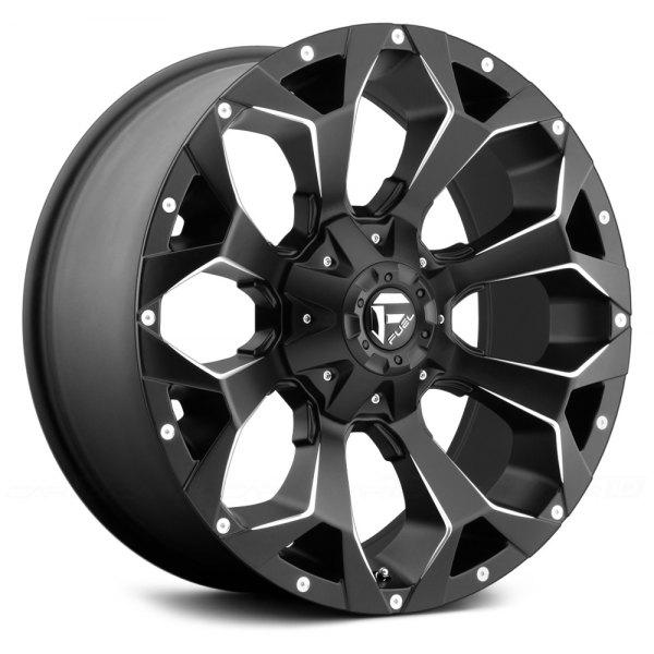 FUEL WHEELS  Assault 20x12 5x4.5 5x5.0 -43
