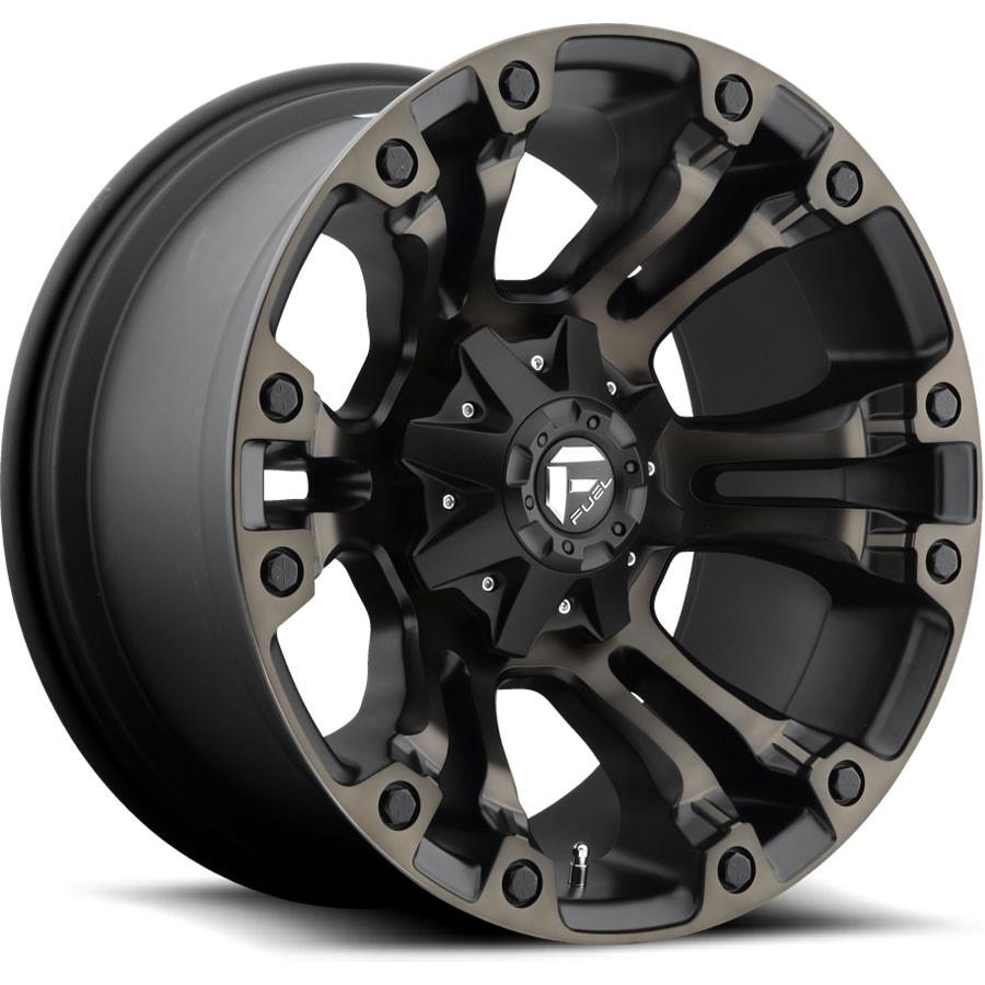 FUEL WHEELS  Vapor 18x9 5x4.5 5x5.0 01