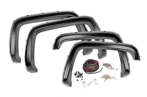 (SKU: F-C10714A) CHEVROLET POCKET FENDER FLARES W/RIVETS (07-14 2500/3500HD)
