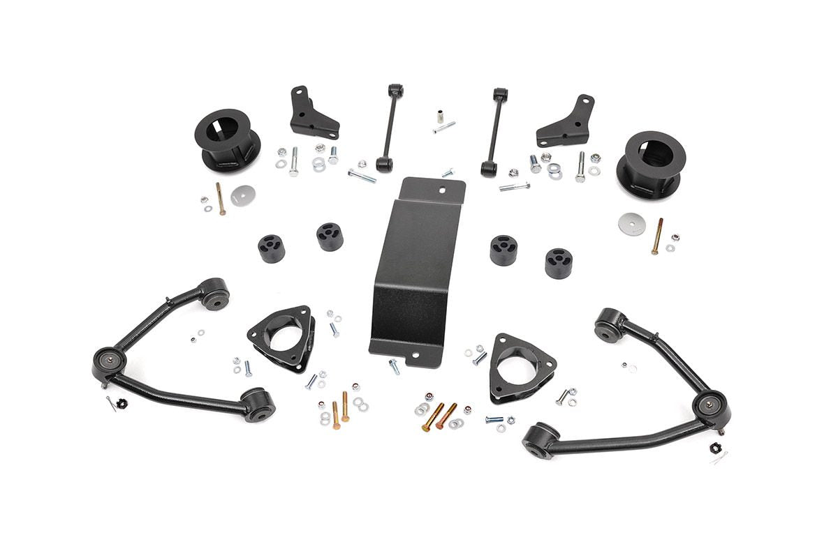 (SKU:193.20) 3.5IN GM SUSPENSION LIFT KIT (07-16 1500 SUV 4WD)