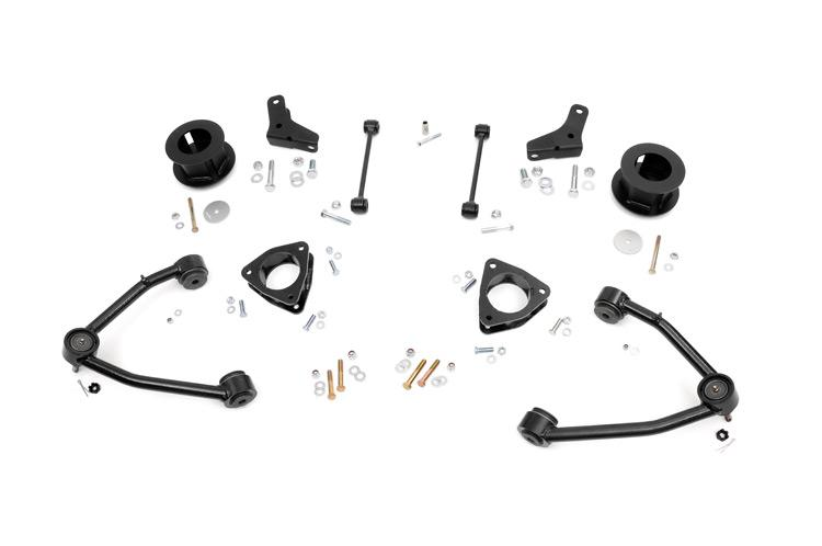 (SKU: 218.20) 3.5IN GM SUSPENSION LIFT KIT (07-18 1500 SUV 2WD)