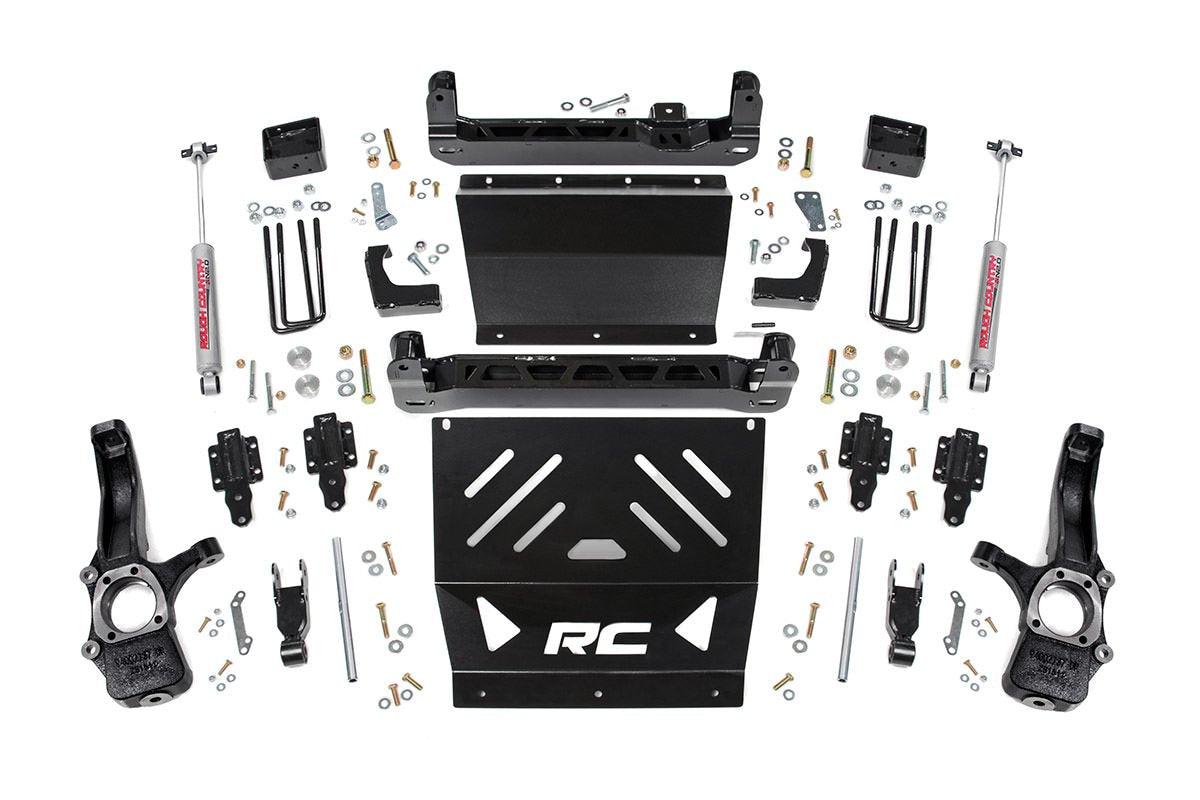 (SKU:221.20D) 4IN GM SUSPENSION LIFT KIT (15-18 CANYON/COLORADO 4WD)