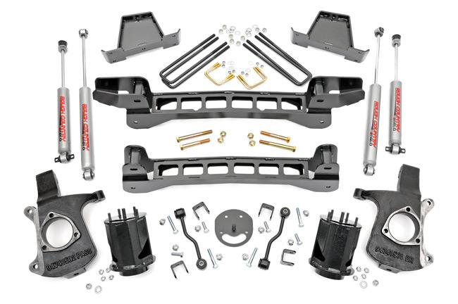 (SKU: 235.20) 2IN GM SUSPENSION LIFT SYSTEM (52IN REAR SPRINGS)