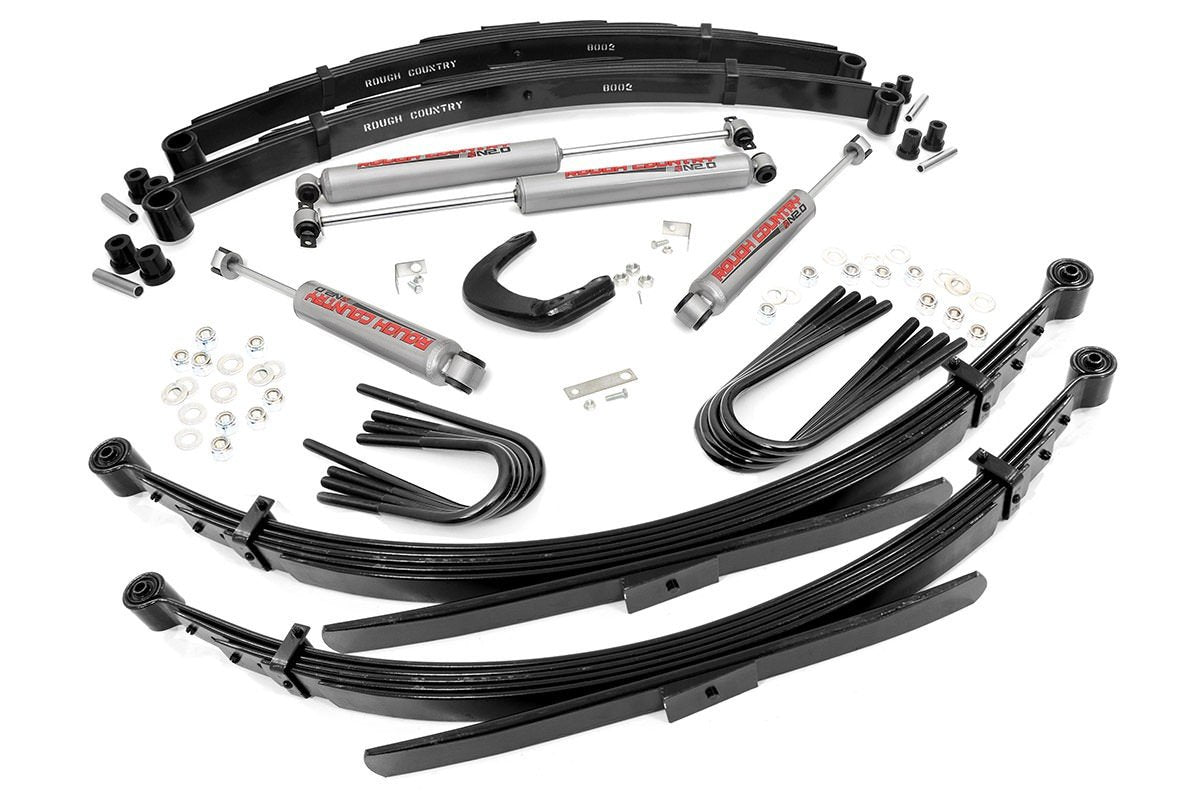 (SKU: 256.20) 4IN GM SUSPENSION LIFT SYSTEM (56IN REAR SPRINGS)